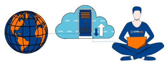 virtual private network illustration