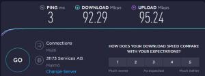 vpn benchmark speed test RusVPN