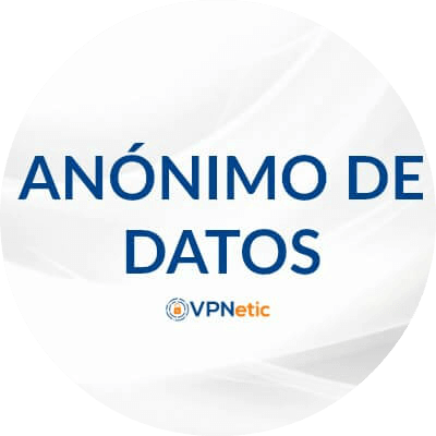 anónimo de datos red privada virtual