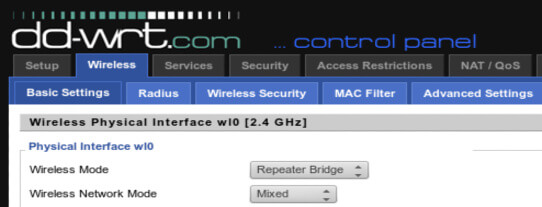 Router with DD-WRT