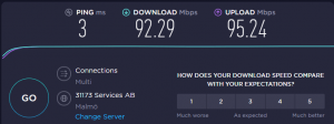 vpn benchmark speed test PIA vpn